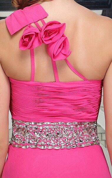 Abendkleid Ballkleid Festtagskleid von Festamo in Rosa Gr. 32 38 40 42 44