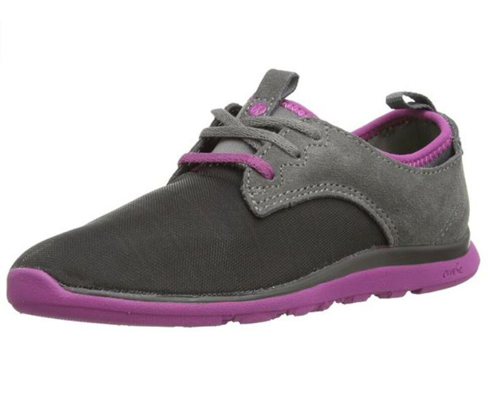 CUSHE Charcoal Mauve Shakra Low-Top Sneakers BNIB