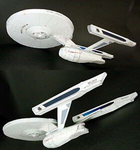 Star-Trek-U-S-S-ENTERPRISE-NCC-1701-A-DIY-Handcraft-PAPER-MODEL-KIT