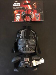 Boba Fett Stormtrooper Darth Vader Star Wars Plush Soft Bag Clips Disneyland