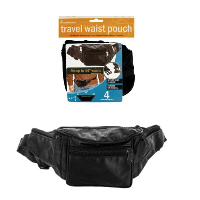 ce6a55a07b3 Nylon Waist Pouch Belt Bum Bag Fanny Pack Travel Sport Hip Purse Women Men