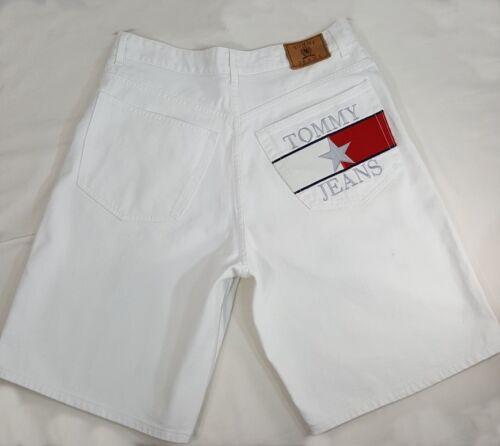 herenshort Hilfiger Tommy Spell Flag Vintage 33 Out Jeans Sz Large 34jcARq5L