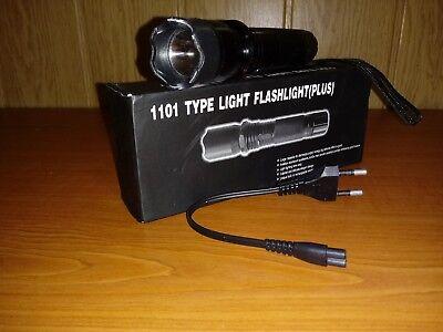 Electro Shocker Stun Gun Self-Defense Electric Shock LED Flashlight  1101 Type
