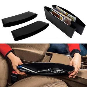 2Stueck-Aufbewahrungsbeutel-Organisator-Kasten-Caddy-Auto-Sitz-Schlitz-Taschen-MY