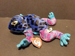 90df6b8608a Image is loading 2001-TY-Beanie-Babies-Dart-the-Frog-W-