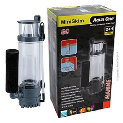 Aqua One MiniSkim 80 Protein Skimmer Marine Equipment