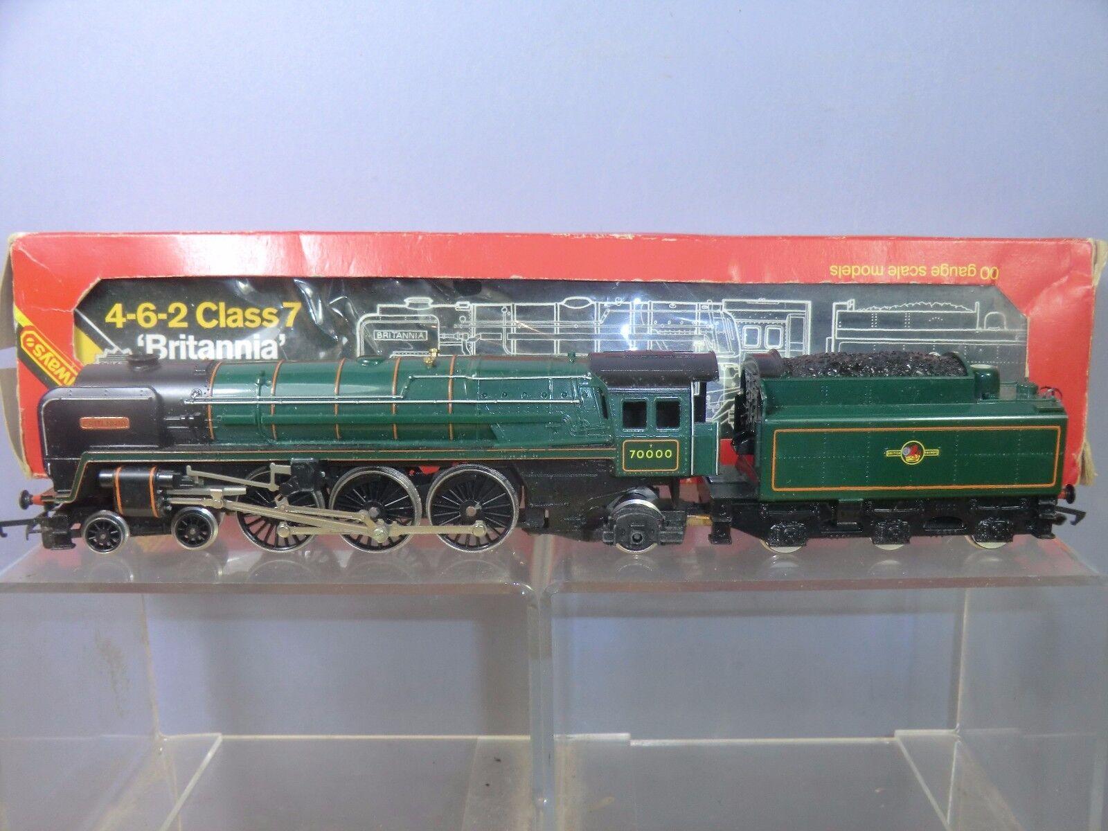 HORNBY RAILWAYS MODEL R.063 BR BRITANNIA CLASS 4-6-2   BRITANNIA  VN MIB