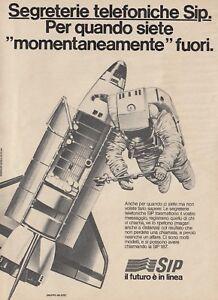 X3052 Segreterie telefoniche SIP - Pubblicità d'epoca - 1984 vintage advertising
