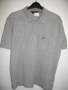 NEW-DUCK-amp-COVER-GREY-CLASSIC-FIT-FRONT-BUTTON-POLO-SHIRT-SIZE-XL-RRP-45