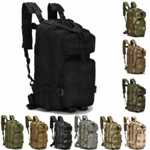 Militar-Tactico-30l-Mochila-para-camping-Viajando-SENDERISMO