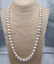 baroque-22-034-AAA-9-8-MM-SOUTH-SEA-NATURAL-White-PEARL-NECKLACE-14K-GOLD-CLASP thumbnail 2