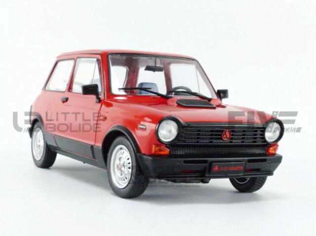 NEW Solido SL1803802 Autobianchi A112 MK5 Abarth 1980 Red 1:18 MODELLINO Die Cast Compatibile con