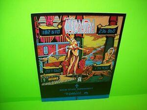 Gottlieb-CLEOPATRA-Original-1977-Flipper-Arcade-Game-Pinball-Machine-Sales-Flyer