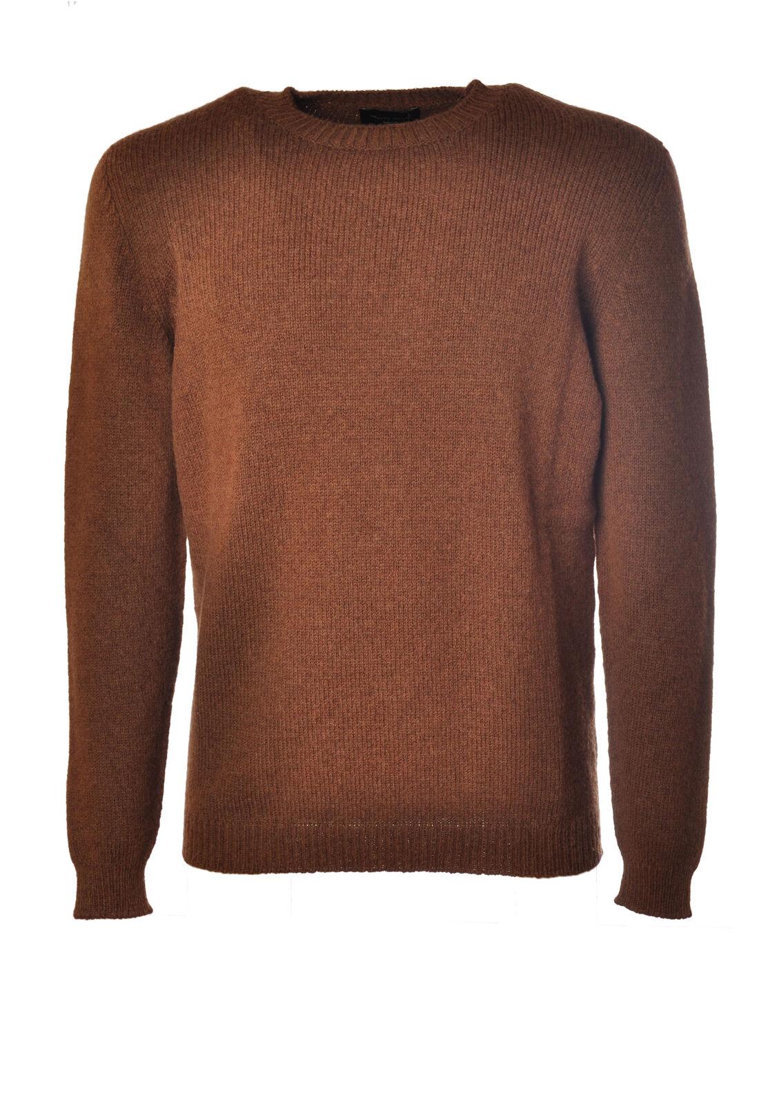 Roberto Collina  -  Sweaters - Male - Leder - 3987531A185111