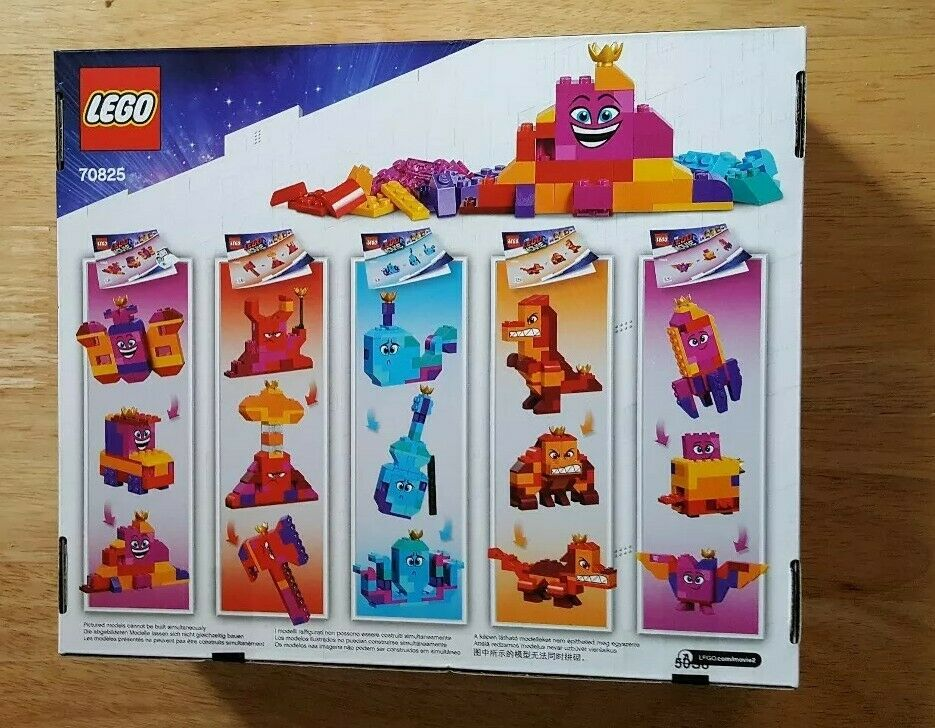 LEGO 70825 - The Lego Movie - Queen Queen Queen Watevra's Build Whatever Box  - 70835 Sealed e3ca76