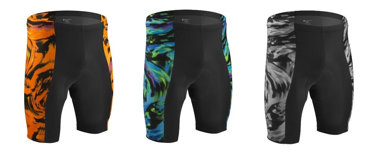 Aero Tech Designs Wave Cycling Bike Shorts Padded Spandex Biking Short USA Made