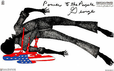 Political POSTER.POWER TO PEOPLE.Civil Rights.Revolution Black Panthers art.64