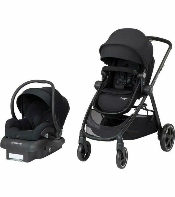 Black Mutsy Igo Stroller Car Seat Adapter for Maxi-Cosi