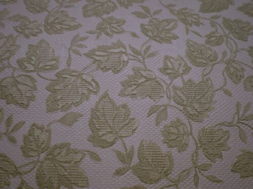 Metallic Gold Leaves on Off White Wallpaper by Fine-Decor  26902