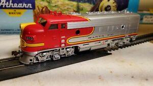 Athearn-Santa-Fe-F7-A-rtr-series-locomotive-train-engine-HO-powered