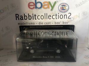 DIE-CAST-034-MERCEDES-BENZ-S-500-2005-034-MERCEDES-COLLECTION-SCALA-1-43-50