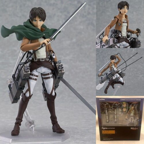 New Attack on Titan Alan Figure Anime Action Figure in Box Gift collection 15 cm