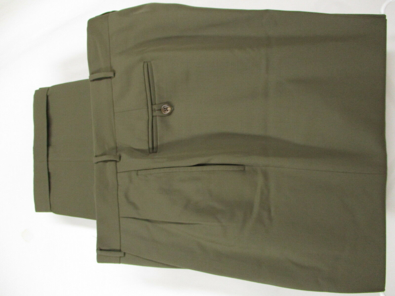 Polo Ralph Lauren Mens Tan Forward Pleated S100s Dress Pants 38x29  Made