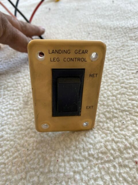 White Used Rv Wiring Harness W   Switch 5th Wheel Landing