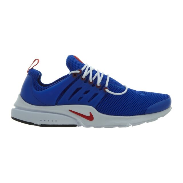 a90e12d4f8 Nike Air Presto Essential Mens 848187-408 Racer Blue Red Running Shoes Size  8