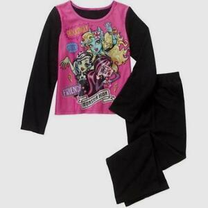 78562336bd Monster High Girls Sleepwear New 6-6X 7-8 M 10-12 L 14-16 XL Flannel ...
