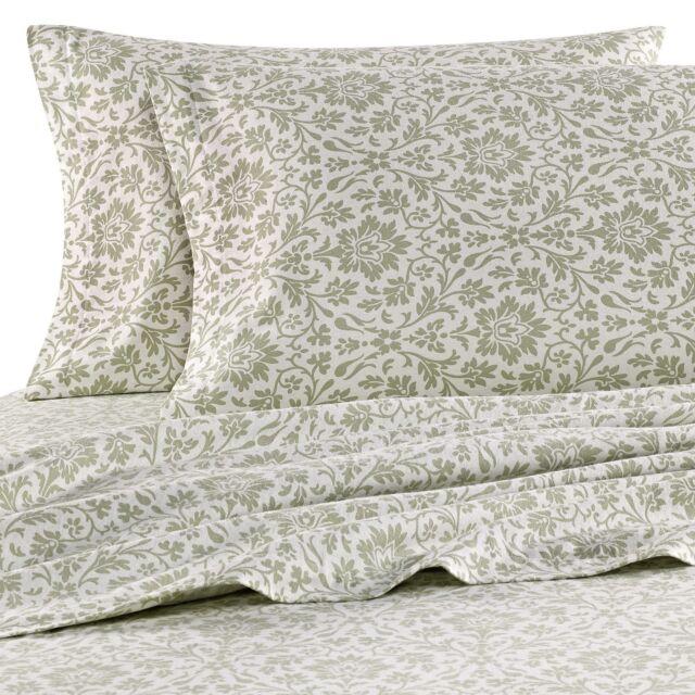 Laura Ashley Flannel Queen Sheet Set: Laura Ashley Flannel Sheet Set,Bedding Soft Covers Bed
