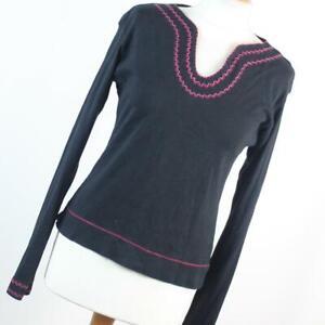 Atmosphere-Womens-Size-16-Black-Plain-Cotton-Basic-Tee