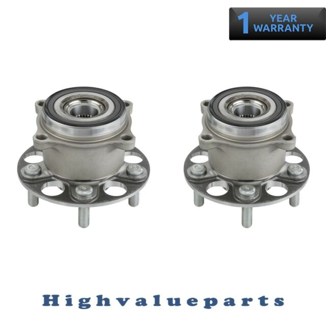 2 Rear Wheel Bearing And Hub Assembly For 2014-16 Acura