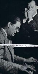 Red McKenzie & Joe Sullivan - Jazzmusiker - um 1950 (?)      O 16-12