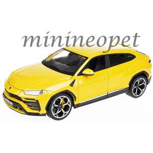 BBURAGO-18-11042-LAMBORGHINI-URUS-SUV-1-18-DIECAST-MODEL-CAR-YELLOW