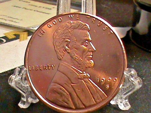 Lincoln Wheat Cent~On A~1 OZ Copper  Round.999~39 MM DESIGN After~1909~S~V.D.B