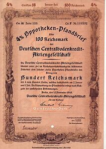 uralte-Aktie-Deutsche-Centralbodenkredit-Aktiengesellschaft-Berlin-1940-100-Reic