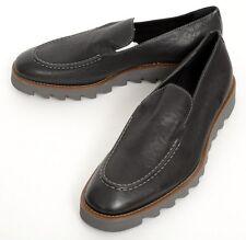 Mens DONALD PLINER Sant Black Calf Leather Sport Loafer Shoes 8 M NIB $325!