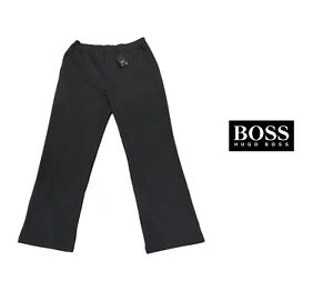 720357431 Image is loading NEW-HUGO-BOSS-MENS-BLACK-TRACKSUIT-JOGGING-JOGGERS-