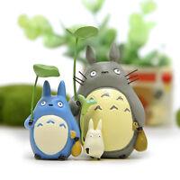 3pcs/Set Studio Ghibli My Neighbor Totoro Resin Mini ...