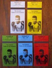 SPORTS - BOXE - BOXING SET: BOXER MUHAMMED ALI (1942-2016) THANKS MEMORIES -MY30