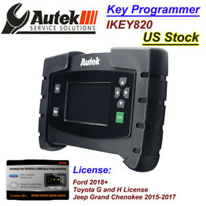 Details about AUTEK IKEY820 Key fob Programmer by OBD Ford 2018+ Toyota G&H  Jeep 15-17 License