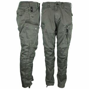 Details zu G Star Raw Herren Cargo Hose Roxic grau grün D14515 4893 995