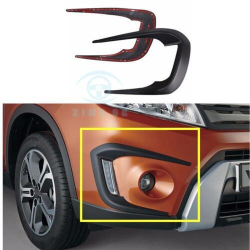 1 Pair NEW Daytime running light bezel large trim for Suzuki Vitra 2016