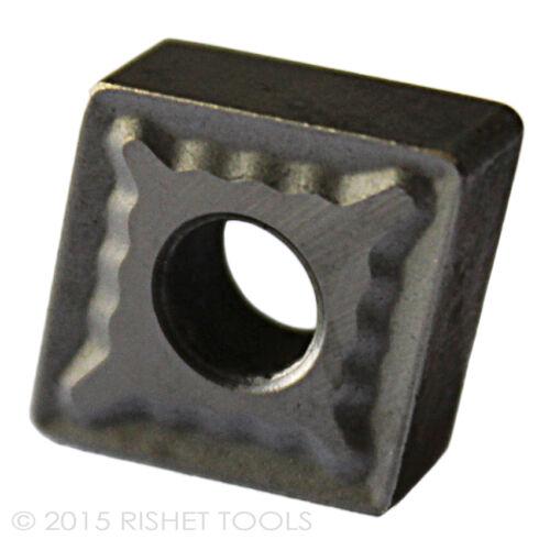 RISHET TOOLS CNMG 432 C2 Uncoated Carbide Inserts 10 PCS