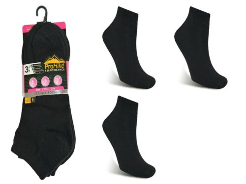 White Mens Ladies Plain Trainer Socks Woman/'s Gym Ankle Sports Sum 6 Pack Black