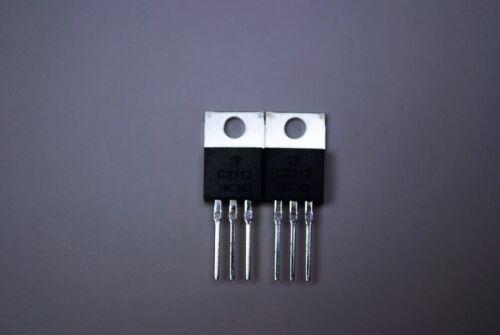 HG-2SC2312 Silicon RF Transistor de Puissance MATCHED 2 pc *** LIVRAISON GRATUITE ***