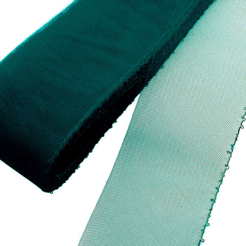 "4 yards Piece  3/"" Mallard Green Threaded Horsehair Braid Crinoline Trim"