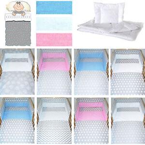 3 6 t baby bettset baby bettw sche bettdecke kissen nestchen kinder bettset ebay. Black Bedroom Furniture Sets. Home Design Ideas