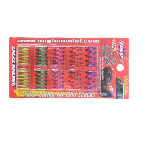 Xtra Speed Spring Set For EP 1:10 RC Car Touring Drift On Road CPEVH/'UK